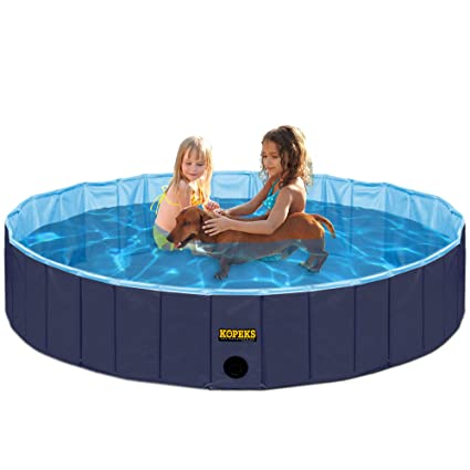 Amazon.com : KOPEKS Outdoor Swimming Pool Bathing Tub - Portable ...