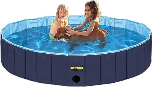 KOPEKS Piscina Grande Infantil Ideal para Niños/Mascotas Perros ...