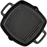 1.75 Height 5 Width TableCraft Products CW30150 Cast Iron Mini Square Server,/5 L 6⅞ with Handles x 5 x 1/¼ 6.875 Length