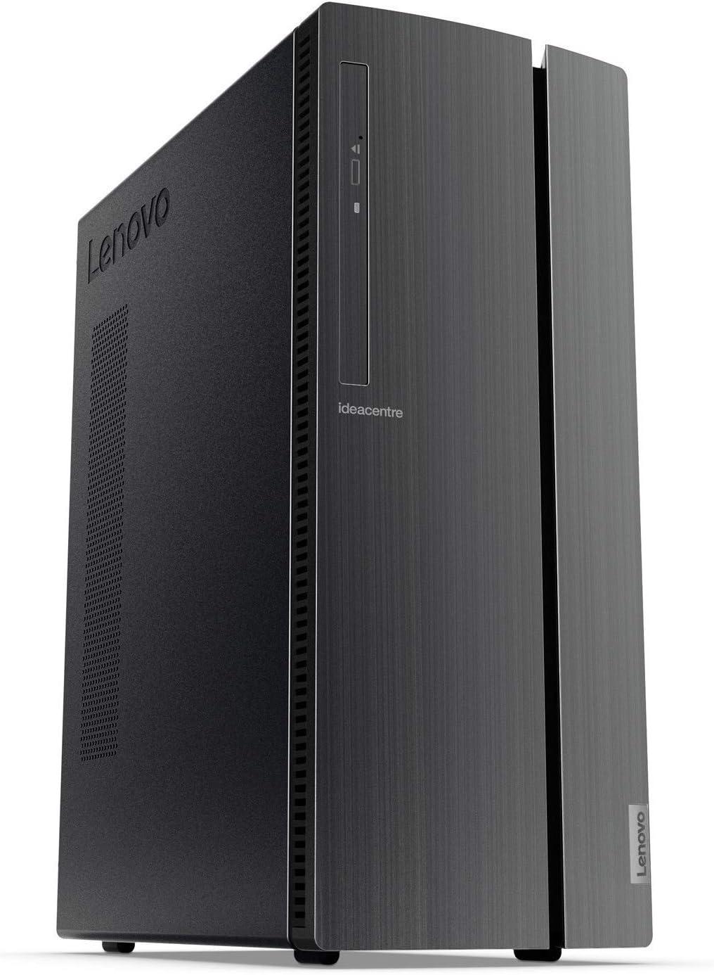 Lenovo IdeaCentre Desktop AMD A12-9800 X4 3.8GHz 12GB 1TB, Black (Certified Refurbished)