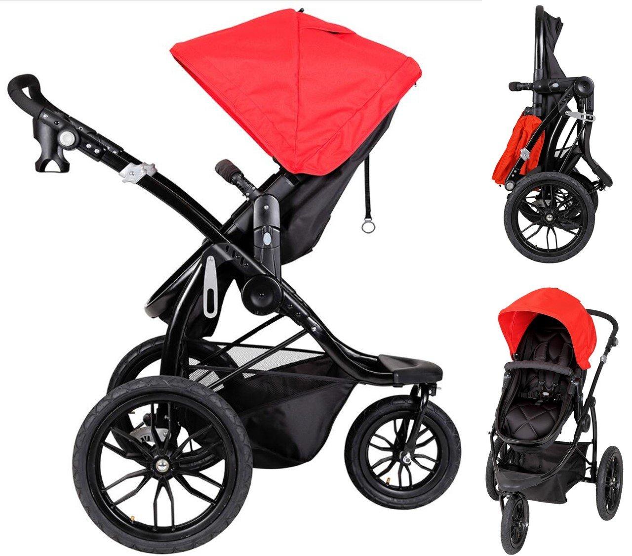 Papilioshop Manta – Cochecito para niños y bebés para caminar, senderismo, deporte de montaña, playa, ligero, económico, bolsa cubrepiernas, ...