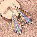 Redvive Top Bohemian Style Wind Handmade Earrings