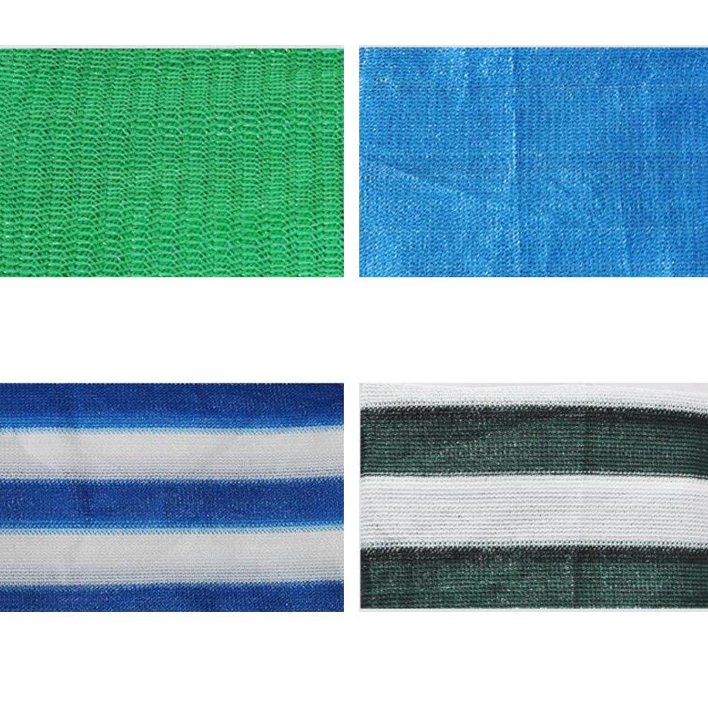 LQQGXL Ombra netta, una terrazza terrazza terrazza solarium cortile tamponamento di spessore fiori carnosi ombra rete termica netta Telone impermeabile (Coloreee   blu bianca, dimensioni   3x6m) | Sito Ufficiale  | eccellente  c680a9