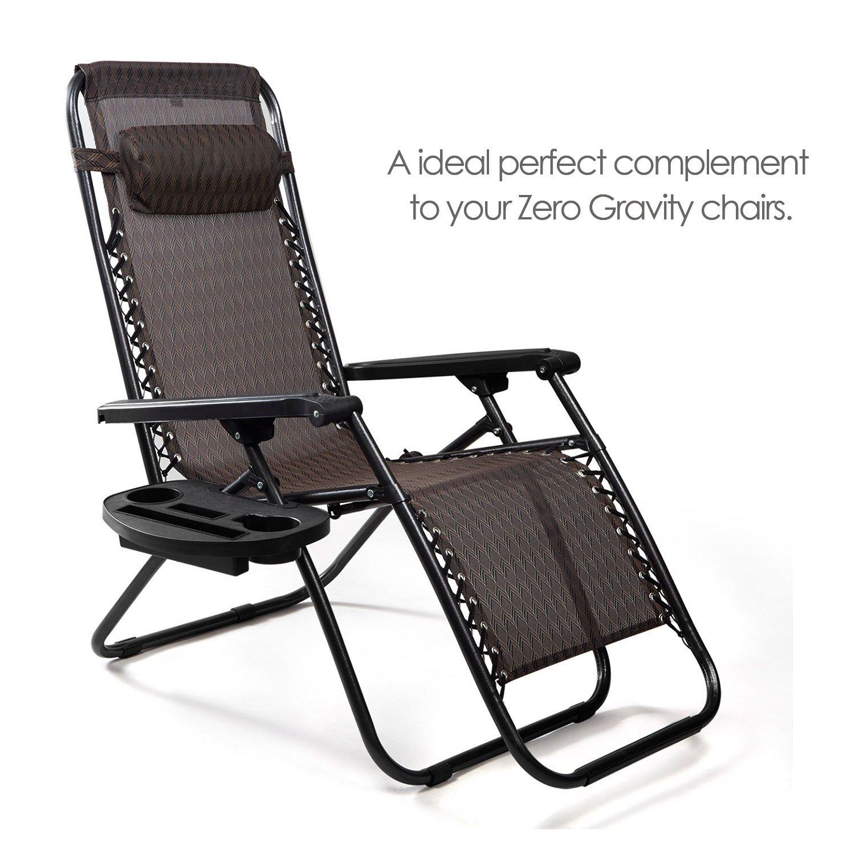 Amazon Zero Gravity Chair Tray Keten Upgraded Version Cup