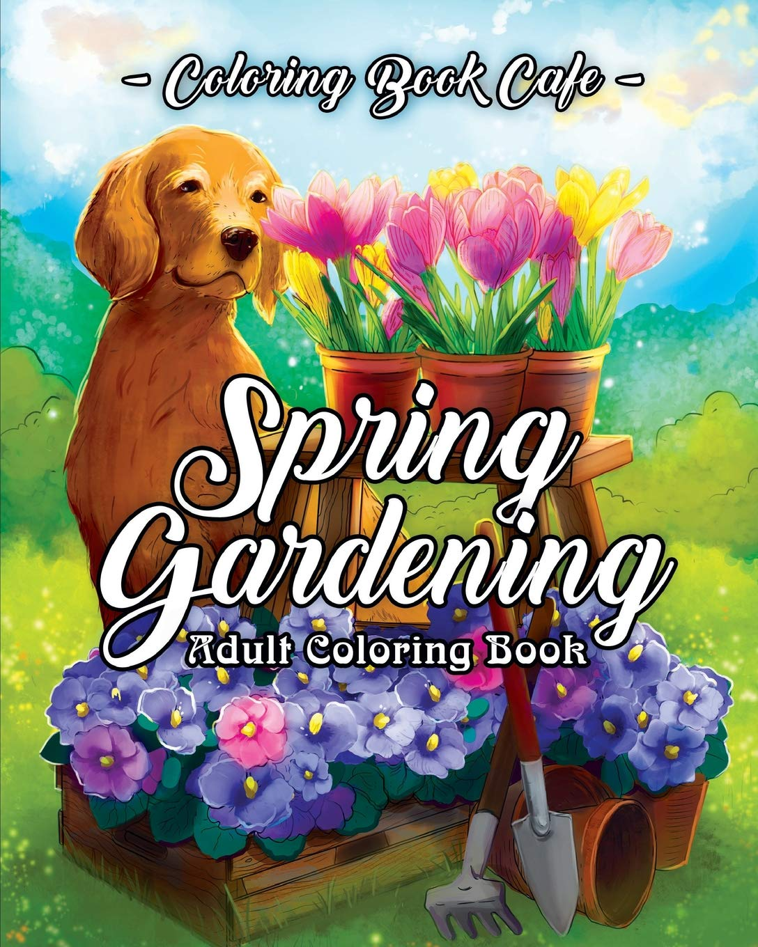 Amazon.com: Spring Gardening Coloring Book: An Adult Coloring Book