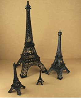 Dreampartycreation Black Eiffel Tower Paris France Metal Stand Model For Home Decor Or Wedding Theme Choose