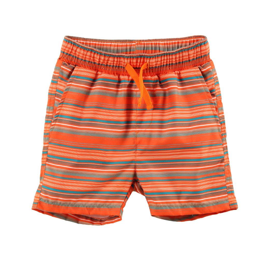 ESTAMICO Boys Quick Dry Beach Swim Trunk Printed Board Shorts with Pockets