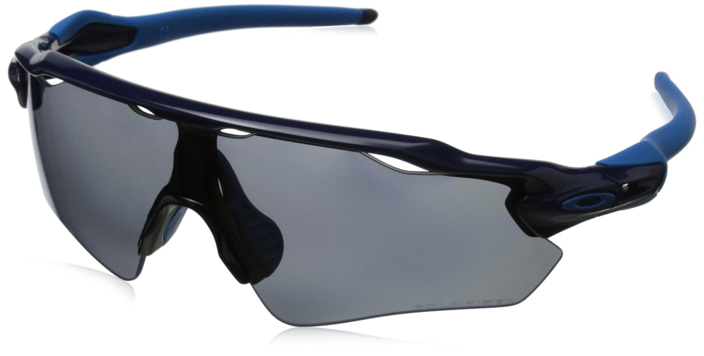 Oakley Men's Radar OO9208-06 Shield Sunglasses, Navy, 138 mm