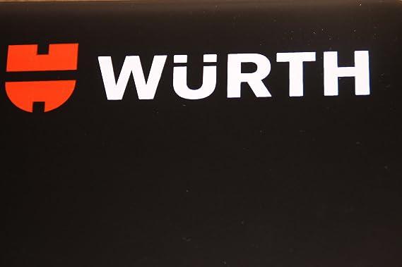 Würth Zebra Llave 1/4 + 1/2 pulgadas Surtido 6 cantos 56 piezas en metal láser: Amazon.es: Bricolaje y herramientas