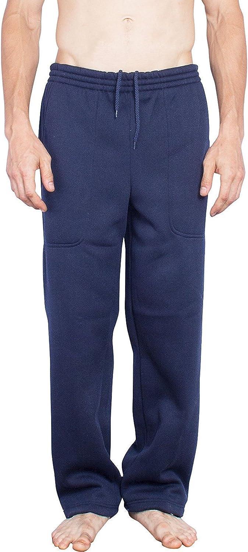 Oscar Sports Activewear Sweatpants for Men | Big and Tall Mens Drawstring Elastic Waist Pants