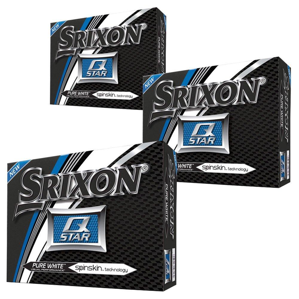 Srixon Q-Star ゴルフボール 4個 (3ダース) 2017 3ダース ホワイト   B07DXCQNV4