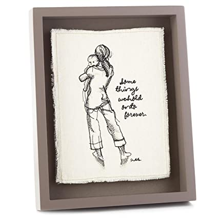 Amazon.com: Hallmark Some Things We Hold on to Forever Embroidery ...