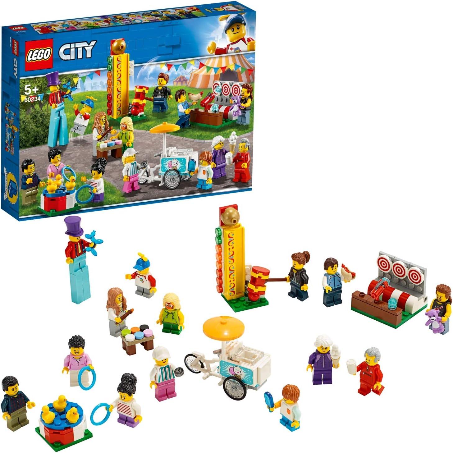 LEGO City Town - Pack de Minifiguras: Feria Juguete de ...