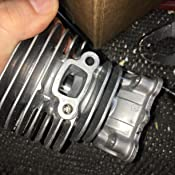 Amazon.com: Husqvarna número de pieza 545008082 Kit Pistón ...