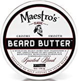 Maestro's Classic Spirited Beard Butter, 6 Ounce