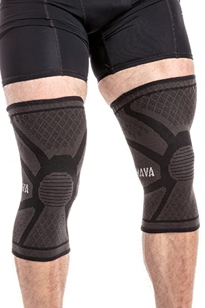 MAVA Sport Knee Compression Sleeves