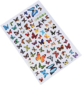 TOYANDONA Butterfly Wall Decals Stickers Colorful Butterfly Stickers Removable Mural Stickers Wall Stickers Window Clings for Kids Room Decoration