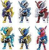 仮面ライダービルド REMIX RIDERS 02 全6種セット