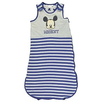 Mickey Mouse Jersey Bolsa de Dormir para niño Bolsa Saco de Dormir Infantil bebé Azul/GRY: Amazon.es: Deportes y aire libre