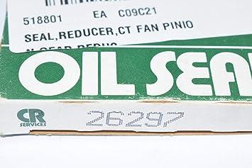 62495 0.5000 in Width 7.5000 in OD CRWH1 CR Seals Nitrile Oil Seal Single Lip with Spring SKF Nitrile CRWH1 Design 6.2500 in Shaft