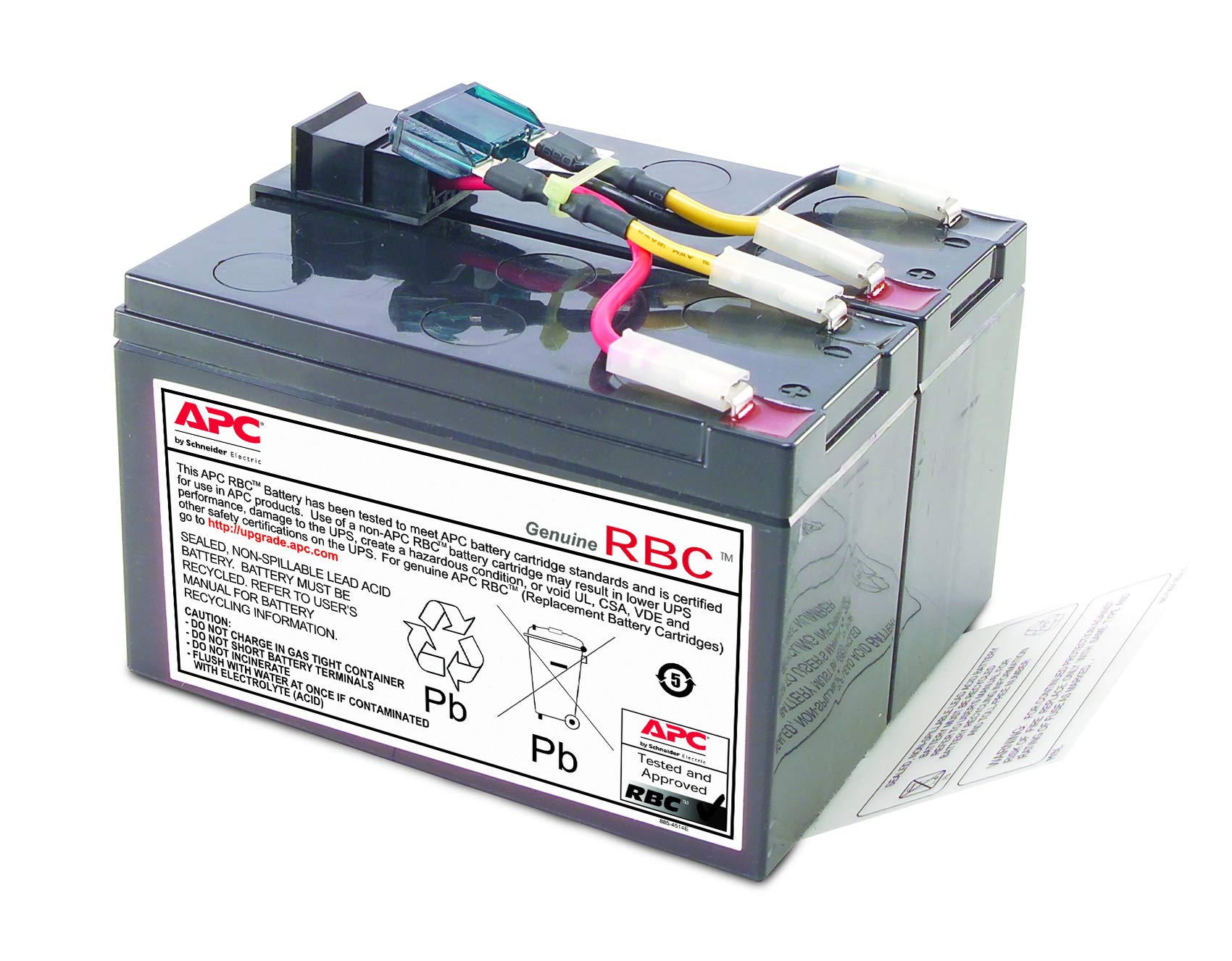 APC UPS Battery Replacement for APC UPS Models SMT750, SMT750US, SUA750 and Select Others (RBC48) by APC (Image #1)
