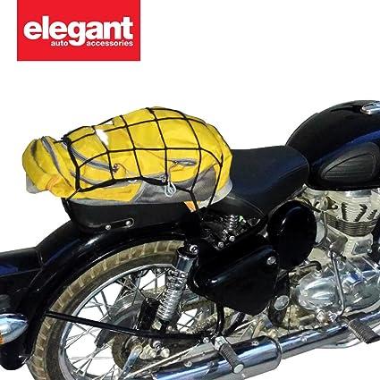 Elegant High Strength Elastic Bungee Cargo Net Black For Ktm Duke