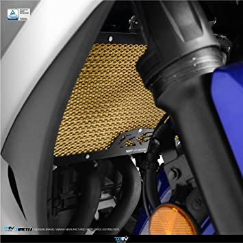 dimotiv Radiador protectora cover-standard para Yamaha YZF-R3 2015 – 2016 (negro