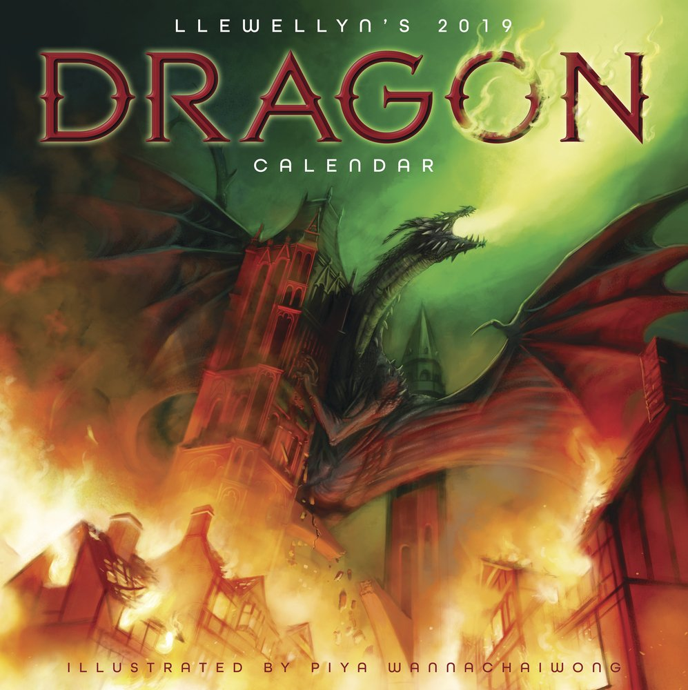 Llewellyn's 2019 Dragon Calendar by Llewellyn Publications (Image #2)