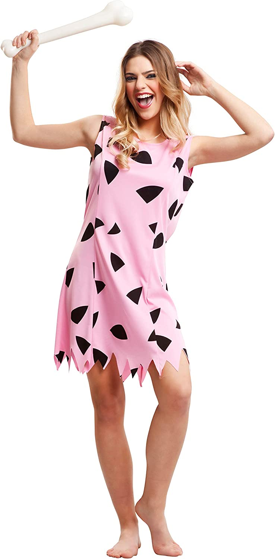 My Other Me Me-203518 Disfraz de troglodita para mujer, color rosa ...
