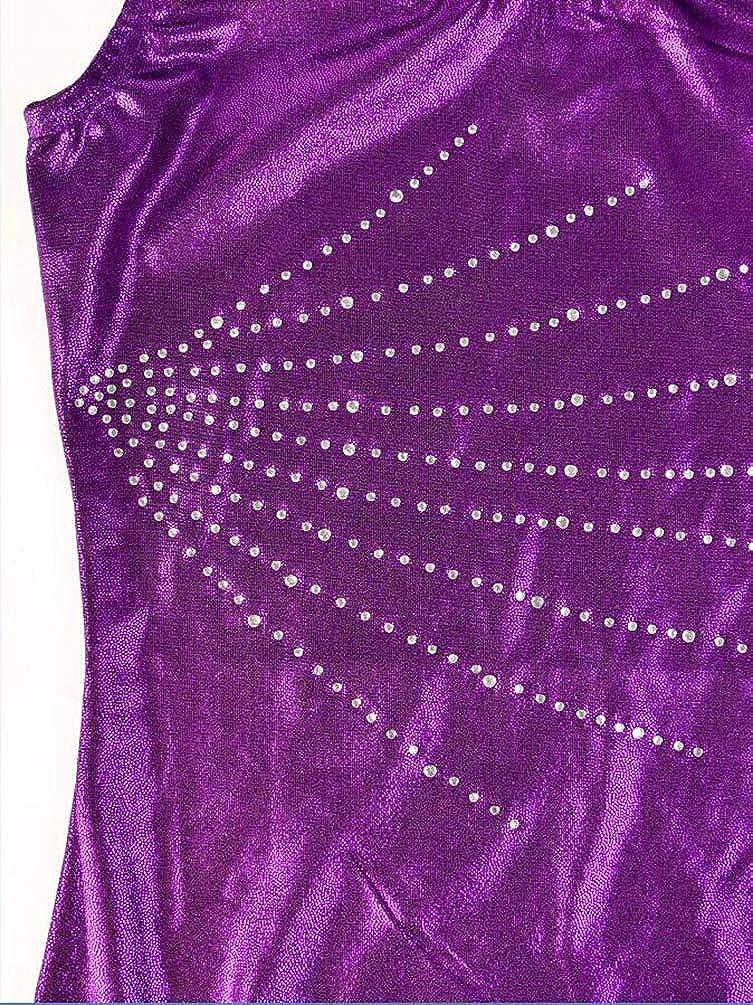 Dooxii Ragazza Senza Maniche Body Costumi di Danza Ginnastica Balletto