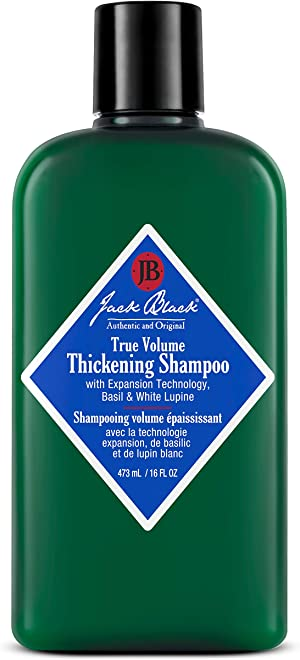 Jack Black True Volume Thickening Shampoo, 16 Oz