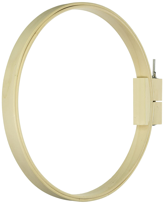 Frank A. Edmunds 12-inch Round Wood Quilt Hoop, 5588 Bohin 5588W