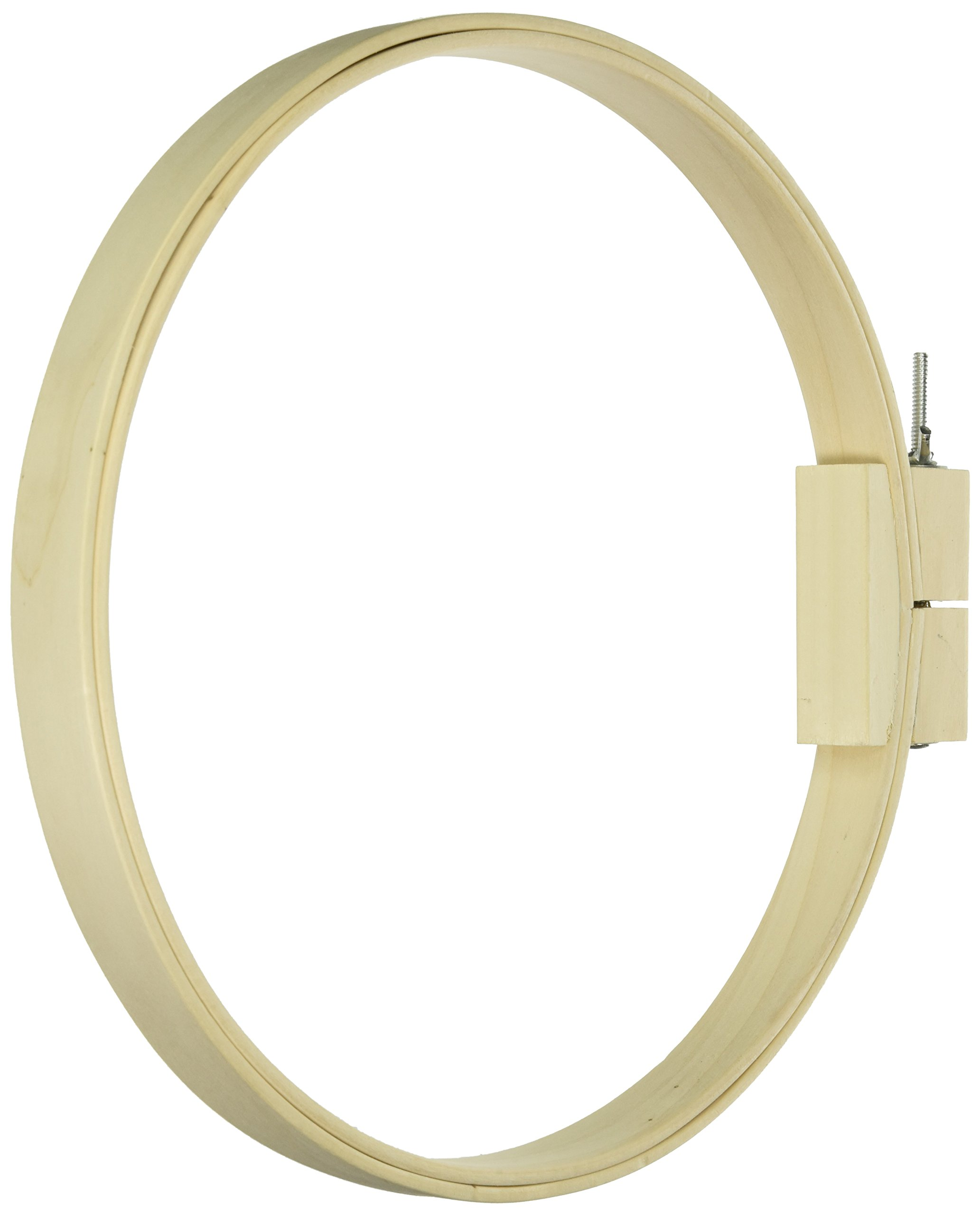 Frank A. Edmunds 12-inch Round Wood Quilt Hoop,5588 by Frank Edmunds & Co.