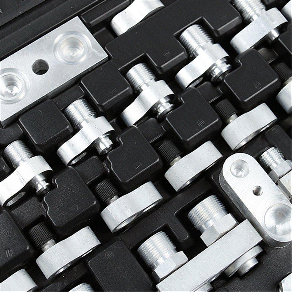 HUKOER Automotive Air Conditioning Leak Detector Leak Detection Tools for Car Truck Excavator A/C Compressor Condenser by HUKOER (Image #4)
