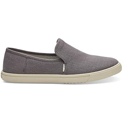 TOMS Women's Clemente Canvas Ankle-High Slip-On Shoes | Loafers & Slip-Ons