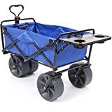 Mac Sports All-Terrain Wagon with Folding Table in Blue