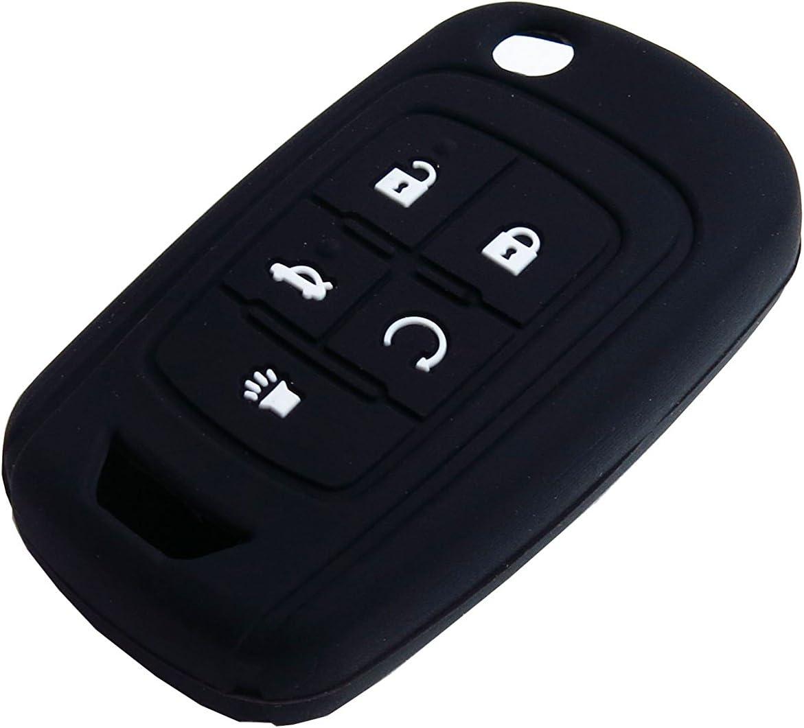 1 Pcs Pink BAR Autotech Remote Key TPU Keyless Entry Shell Case Fob and Key Skin Cover fit for Chevrolet Camaro Cruze Volt Equinox Spark Malibu Sonic