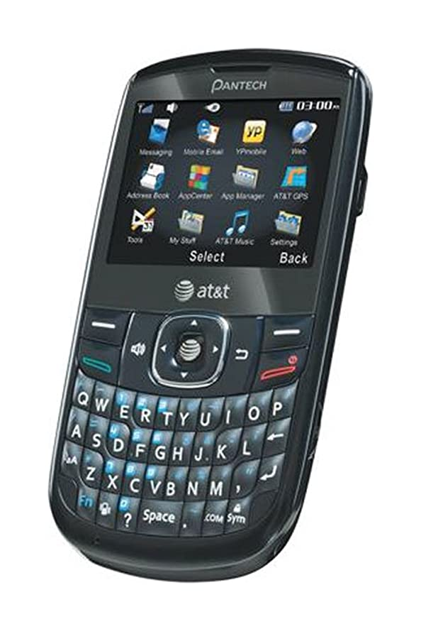 amazon com pantech link ii p5000 qwerty cell phone at t black rh amazon com Pantech Link P5000 Pantech Link P5000