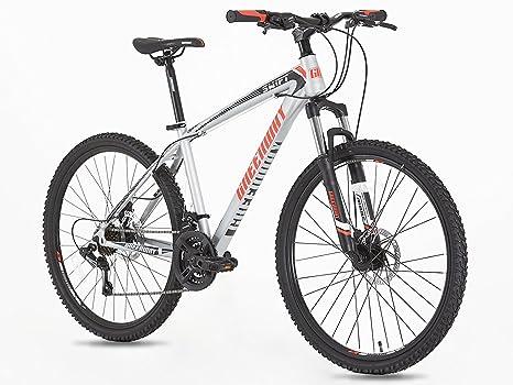 Adultos para bicicleta de montaña MTB 21 marchas, ruedas de 26 pulgadas 16,5