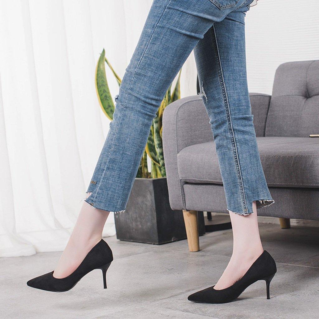 Bao Xing Xing Xing Bao Bei Firm Tacones negros negro,/ Zapatos de primavera 1c4b7d