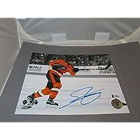$130 » Shayne Gostisbehere Signed Philadelphia Flyers 8x10 Photo Beckett BAS COA 1B - Autographed NHL Photos