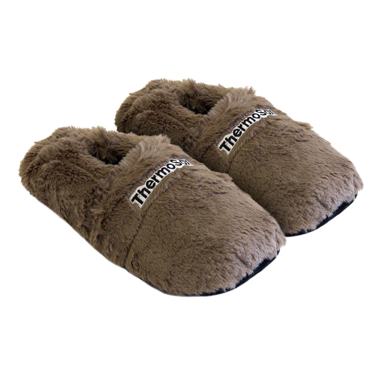 Hot Sox Zapatillas de estar por casa para mujer marrón marrón