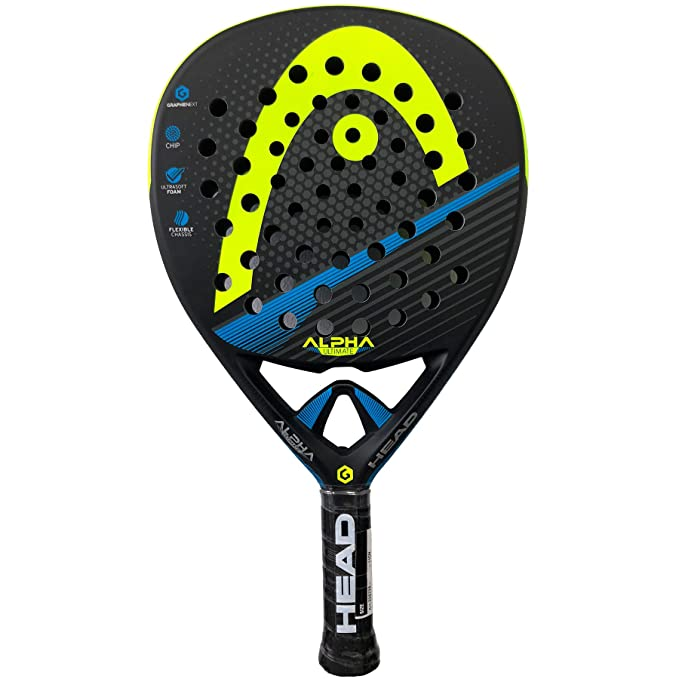 Head Pala Graphene XT Alpha Ultimate Yellow: Amazon.es: Deportes y ...