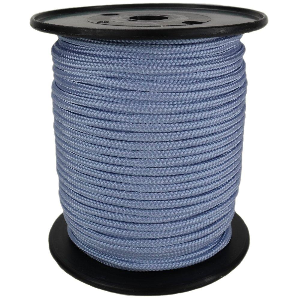 PP Seil Polypropylenseil SH 3mm 100m Farbe Bordeaux 0107 Geflochten