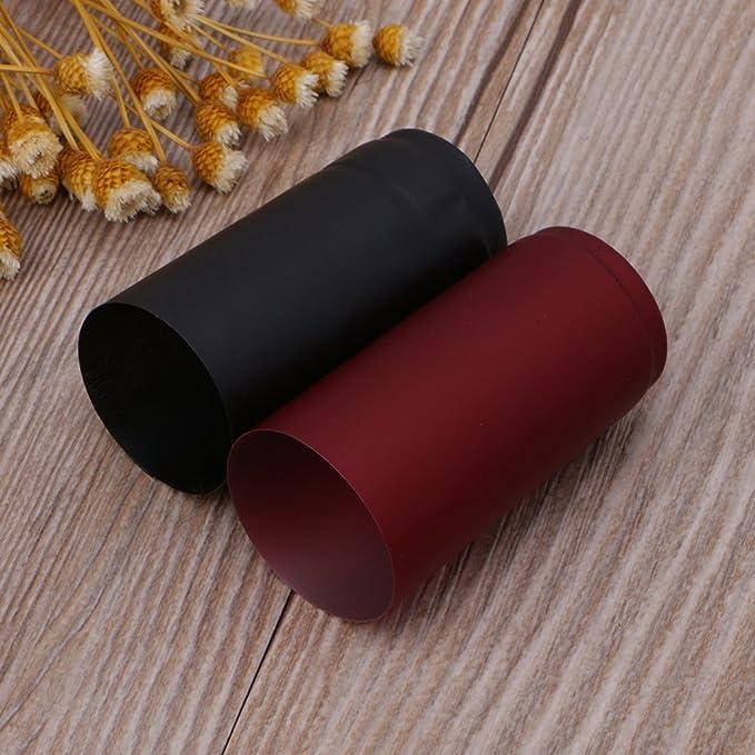 Compra Lamdoo - 10 cápsulas termorretráctiles para Botellas de Vino, PVC, Rojo, 30x60mm en Amazon.es