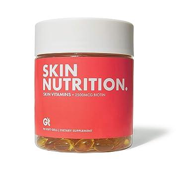 Amazon.com: GT Skin Nutrition Vitamina E, aceite de coco y ...