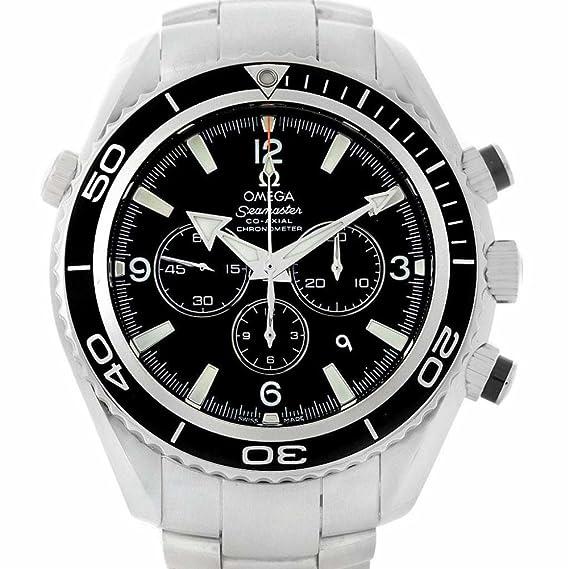 Omega planeta océano automatic-self-wind Mens Reloj 2210.50.00 (Certificado)