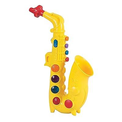 Small World Toys Preschool -Play At Home Saxophone B/O: Toys & Games