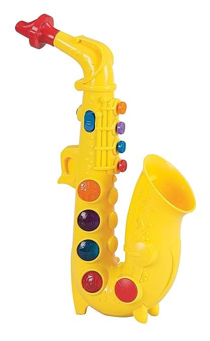 Amazon Com Small World Toys Preschool Play At Home Saxophone B O