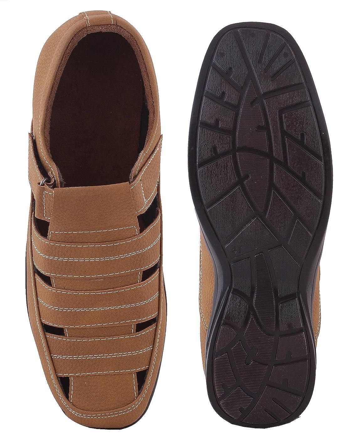 d415e50a1e91 WOODSTONE Men s Alberto Vereno Sandal  Buy Online at Low Prices in India -  Amazon.in